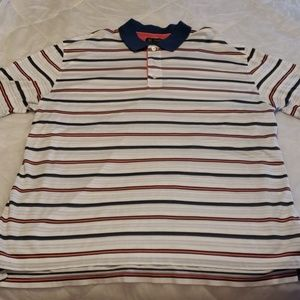 Brooks Brothers Short Sleeve Golf Henley Mens 2XL